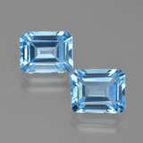 thumb image of 5.6ct Octagon Facet Swiss Blue Topaz (ID: 405685)