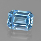 thumb image of 2.7ct Octagon Facet Swiss Blue Topaz (ID: 405701)