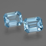 thumb image of 5ct Octagon Facet Swiss Blue Topaz (ID: 405789)