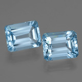thumb image of 5.9ct Octagon Facet Swiss Blue Topaz (ID: 405791)