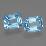 thumb image of 5.2ct Octagon Facet Swiss Blue Topaz (ID: 405796)