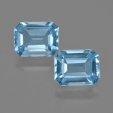 thumb image of 5ct Octagon Facet Swiss Blue Topaz (ID: 405854)