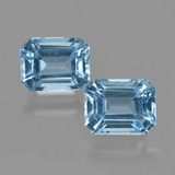 thumb image of 5.7ct Octagon Facet Swiss Blue Topaz (ID: 405857)