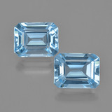 thumb image of 5.3ct Octagon Facet Swiss Blue Topaz (ID: 405858)