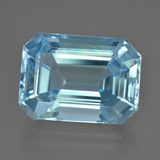 thumb image of 18ct Octagon Facet Swiss Blue Topaz (ID: 409007)