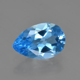 thumb image of 3.3ct Pear Facet Swiss Blue Topaz (ID: 409104)