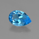 thumb image of 2.8ct Pear Facet Swiss Blue Topaz (ID: 409182)