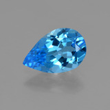thumb image of 2.8ct Pear Facet Swiss Blue Topaz (ID: 409188)