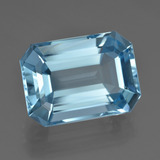 thumb image of 19ct Octagon Facet Swiss Blue Topaz (ID: 409395)
