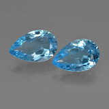 thumb image of 8.8ct Pear Facet Swiss Blue Topaz (ID: 409404)