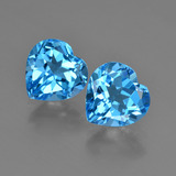 thumb image of 6.1ct Heart Facet Swiss Blue Topaz (ID: 409447)