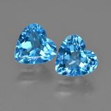 thumb image of 5.4ct Heart Facet Swiss Blue Topaz (ID: 409450)