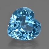 thumb image of 15.1ct Heart Facet Swiss Blue Topaz (ID: 409499)