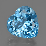 thumb image of 16.3ct Heart Facet Swiss Blue Topaz (ID: 409501)