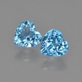 thumb image of 2.6ct Heart Facet Swiss Blue Topaz (ID: 409577)