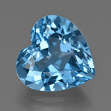 thumb image of 15.9ct Heart Facet Swiss Blue Topaz (ID: 409690)