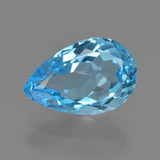 thumb image of 5.2ct Pear Facet Swiss Blue Topaz (ID: 409718)