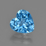 thumb image of 3.1ct Heart Facet Swiss Blue Topaz (ID: 409789)