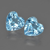 thumb image of 4.5ct Heart Facet Swiss Blue Topaz (ID: 409959)