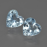 thumb image of 3.9ct Heart Facet Swiss Blue Topaz (ID: 409961)