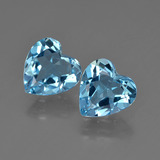 thumb image of 3.6ct Heart Facet Swiss Blue Topaz (ID: 410024)