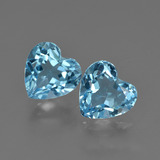 thumb image of 4.5ct Heart Facet Swiss Blue Topaz (ID: 410025)