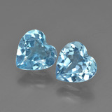 thumb image of 4.1ct Heart Facet Swiss Blue Topaz (ID: 410031)