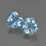 thumb image of 4ct Heart Facet Swiss Blue Topaz (ID: 410032)