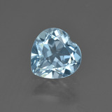 thumb image of 2ct Heart Facet Swiss Blue Topaz (ID: 410136)
