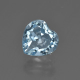 thumb image of 2.3ct Heart Facet Swiss Blue Topaz (ID: 410137)