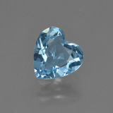 thumb image of 1.9ct Heart Facet Swiss Blue Topaz (ID: 410140)