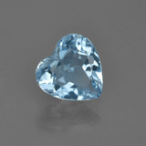 thumb image of 2.2ct Heart Facet Swiss Blue Topaz (ID: 410260)