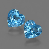 thumb image of 2.6ct Heart Facet Swiss Blue Topaz (ID: 410475)
