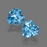 thumb image of 2.8ct Heart Facet Swiss Blue Topaz (ID: 410478)