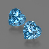 thumb image of 2.8ct Heart Facet Swiss Blue Topaz (ID: 410480)