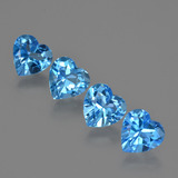 thumb image of 5.3ct Heart Facet Swiss Blue Topaz (ID: 410858)