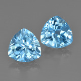 thumb image of 2.9ct Trillion Facet Swiss Blue Topaz (ID: 413978)