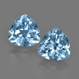 thumb image of 5.4ct Trillion Facet Swiss Blue Topaz (ID: 414074)