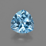 thumb image of 3.1ct Trillion Facet Swiss Blue Topaz (ID: 414127)