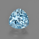 thumb image of 3.4ct Trillion Facet Swiss Blue Topaz (ID: 414130)