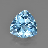thumb image of 2.9ct Trillion Facet Swiss Blue Topaz (ID: 414230)
