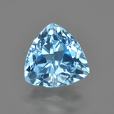 thumb image of 2.7ct Trillion Facet Swiss Blue Topaz (ID: 414236)
