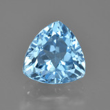 thumb image of 2.9ct Trillion Facet Swiss Blue Topaz (ID: 414239)