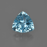 thumb image of 2.7ct Trillion Facet Swiss Blue Topaz (ID: 414280)