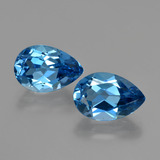 thumb image of 7.9ct Pear Facet London Blue Topaz (ID: 414574)