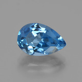 thumb image of 4ct Pear Facet London Blue Topaz (ID: 414608)