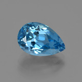 thumb image of 4.2ct Pear Facet Swiss Blue Topaz (ID: 414612)