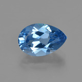 thumb image of 3.7ct Pear Facet Swiss Blue Topaz (ID: 414712)