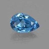 thumb image of 3.9ct Pear Facet London Blue Topaz (ID: 414715)