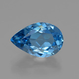 thumb image of 3.6ct Pear Facet London Blue Topaz (ID: 414740)